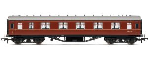 Hornby R4234B BR Stanier 1st Class coach, maroon livery